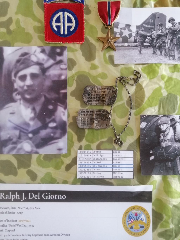 Dog tags Ralph Delgiorno 82 AB 6 juin 1944 Img_2077