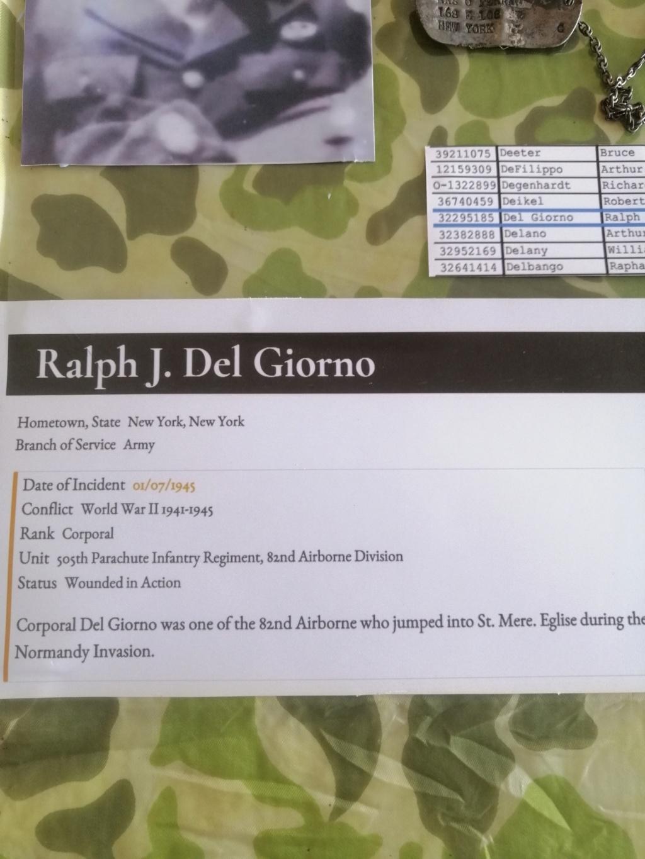Dog tags Ralph Delgiorno 82 AB 6 juin 1944 Img_2080