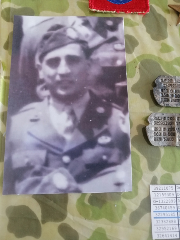 Dog tags Ralph Delgiorno 82 AB 6 juin 1944 Img_2081