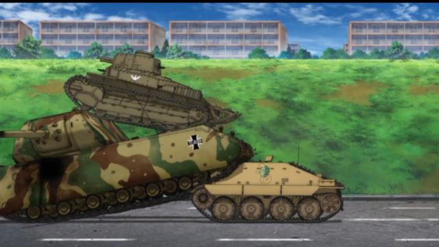 Girls und Panzer Maus_310