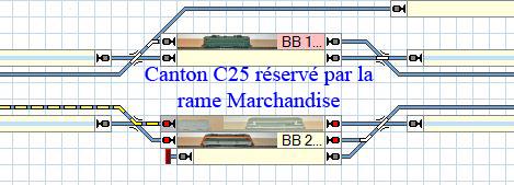 Exclure un train d'un canton. C25_zo19