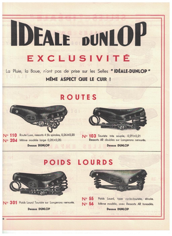 catalogue pub années 40/50   selles IDEALE 1010