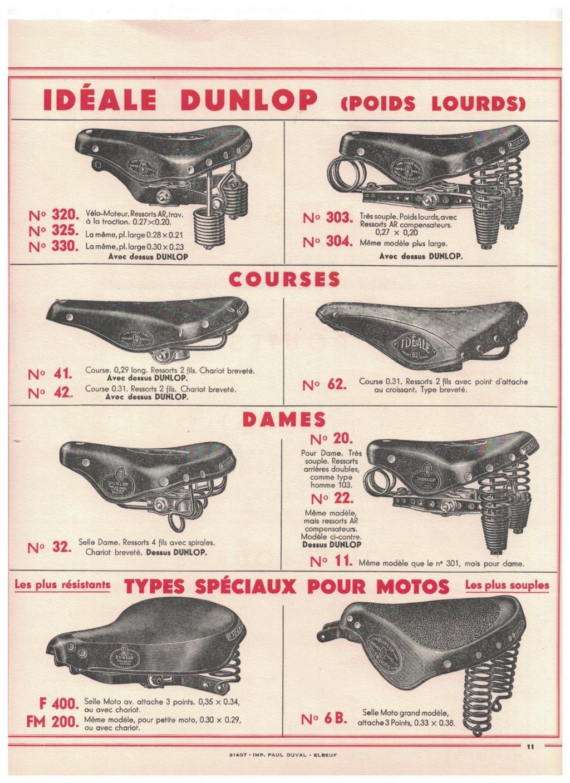 catalogue pub années 40/50   selles IDEALE 1110