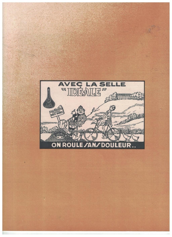 catalogue pub années 40/50   selles IDEALE 1210