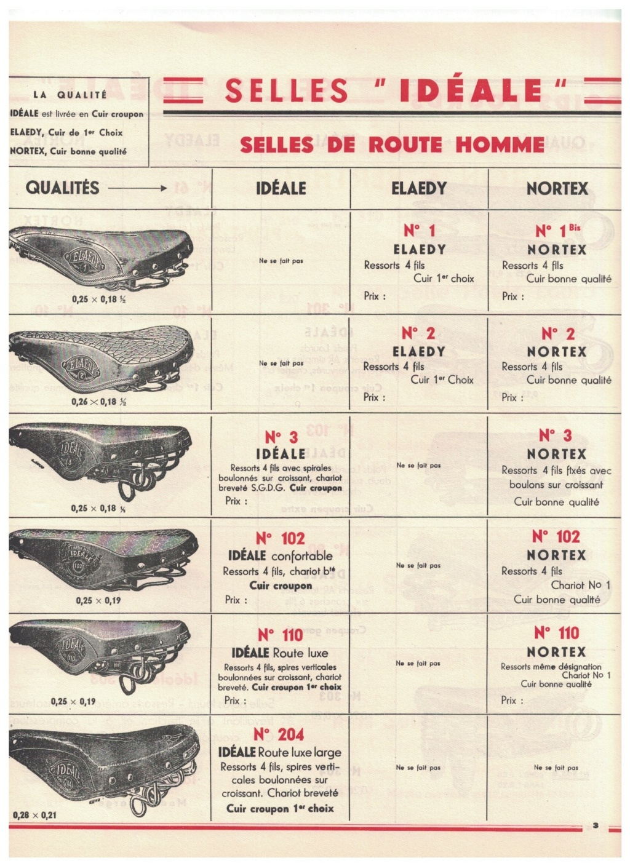 catalogue pub années 40/50   selles IDEALE 310