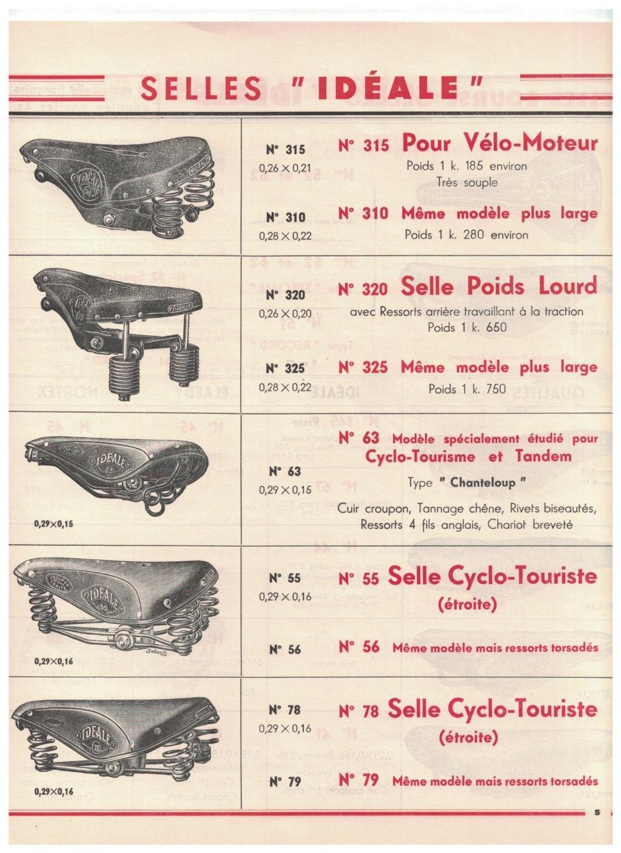 catalogue pub années 40/50   selles IDEALE 510