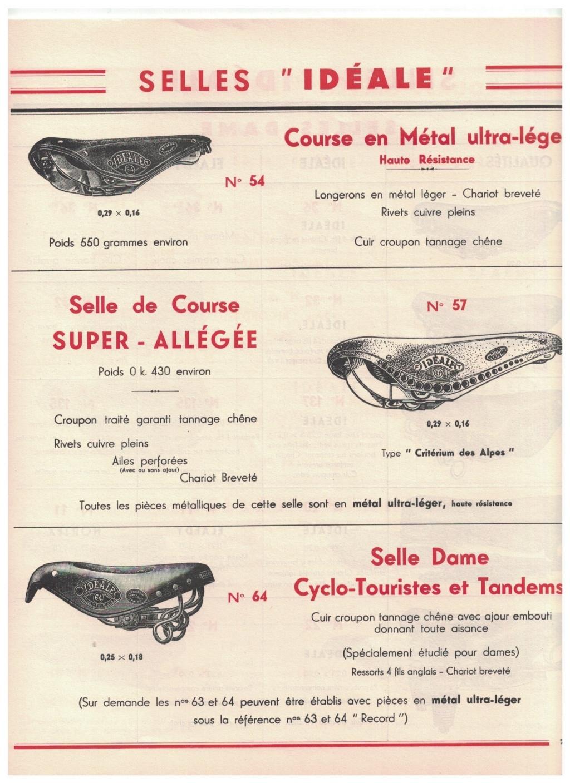 catalogue pub années 40/50   selles IDEALE 710