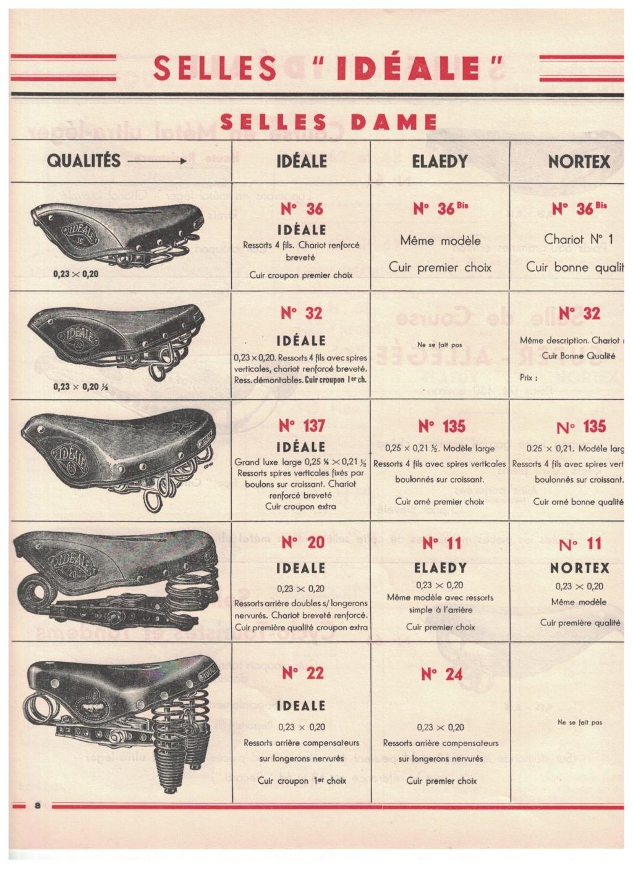 catalogue pub années 40/50   selles IDEALE 810