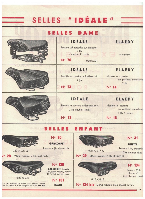 catalogue pub années 40/50   selles IDEALE 910
