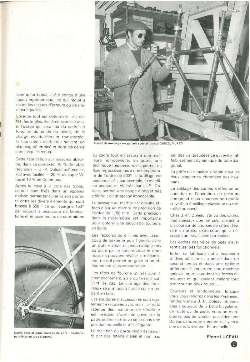 DOLEAC 1976..... tout  REYNOLDS 531 5/10   et tout SHIMANO DURA ACE N22_p310