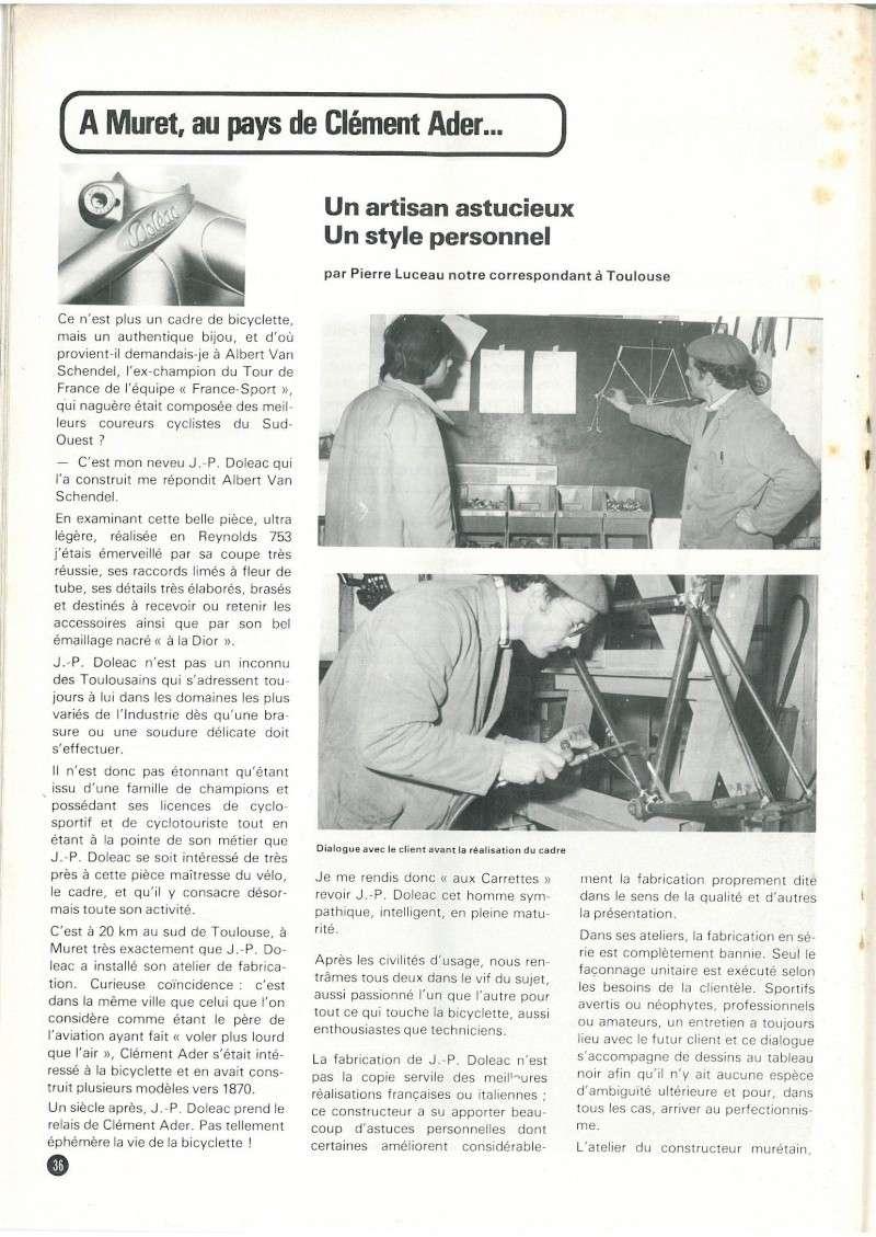 DOLEAC 1976..... tout  REYNOLDS 531 5/10   et tout SHIMANO DURA ACE N22_p311