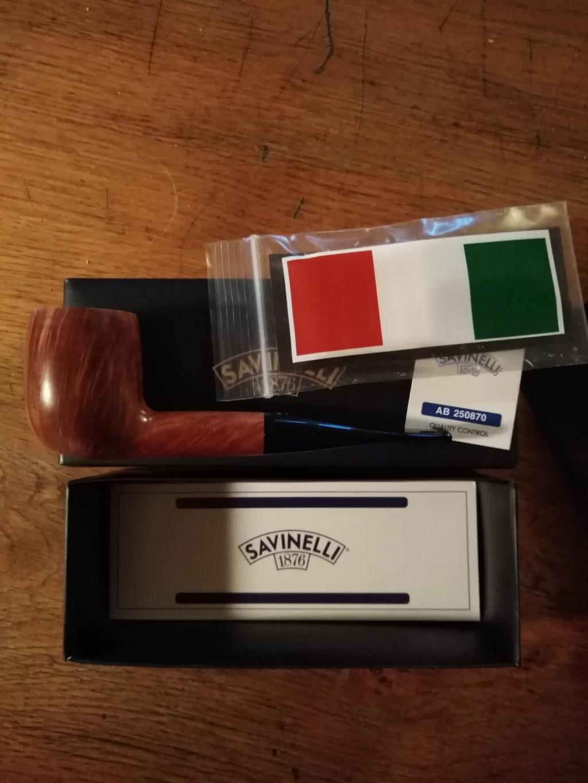 Vends pipe italienne savinelli siena neuve Img_2198
