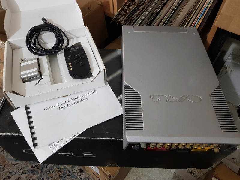 SOLD - Cyrus Quattro (All in 1 CD Player) - with wireless remote control system 20180614