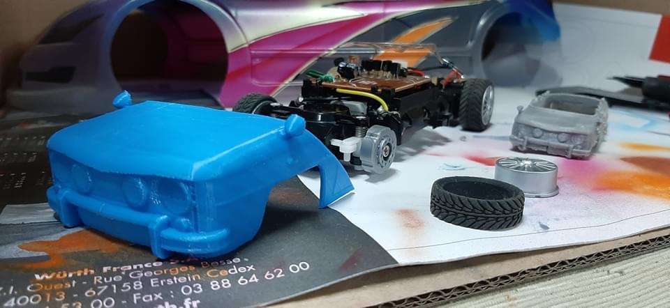 Carrosserie imprimée en 3d 13ae9410