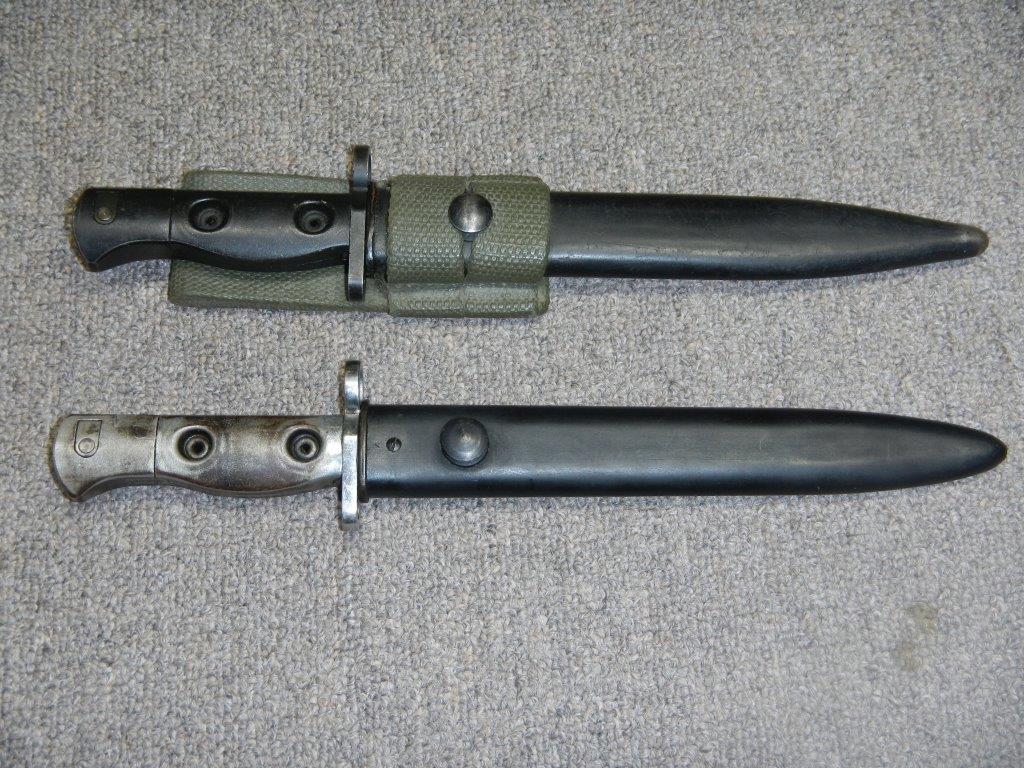 Baïonnettes L1A2 autraliennes du fusil L1A1 010