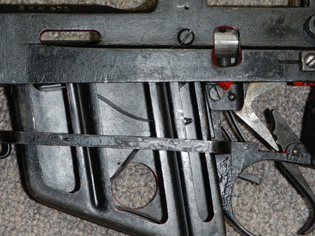 Coupe didactique du fusil No 4 MK I 1015