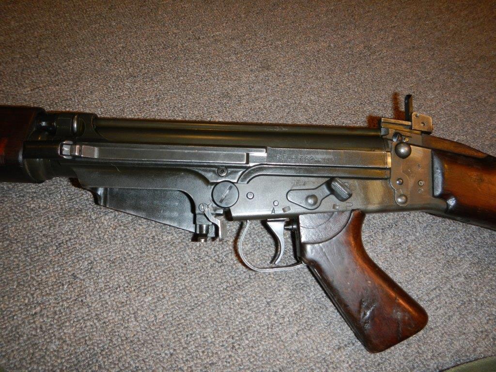 Fusil L1A1 Lightgow utilisé par l'Armée de la Nouvelle-Zélande 1213