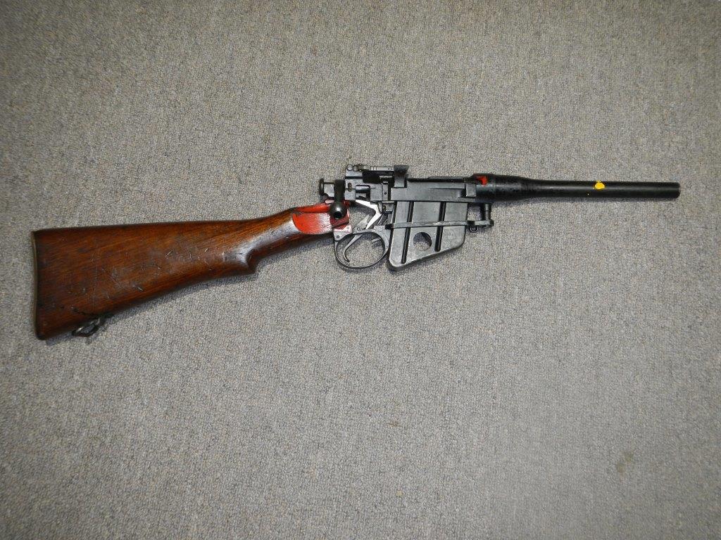 Coupe didactique du fusil No 4 MK I 124