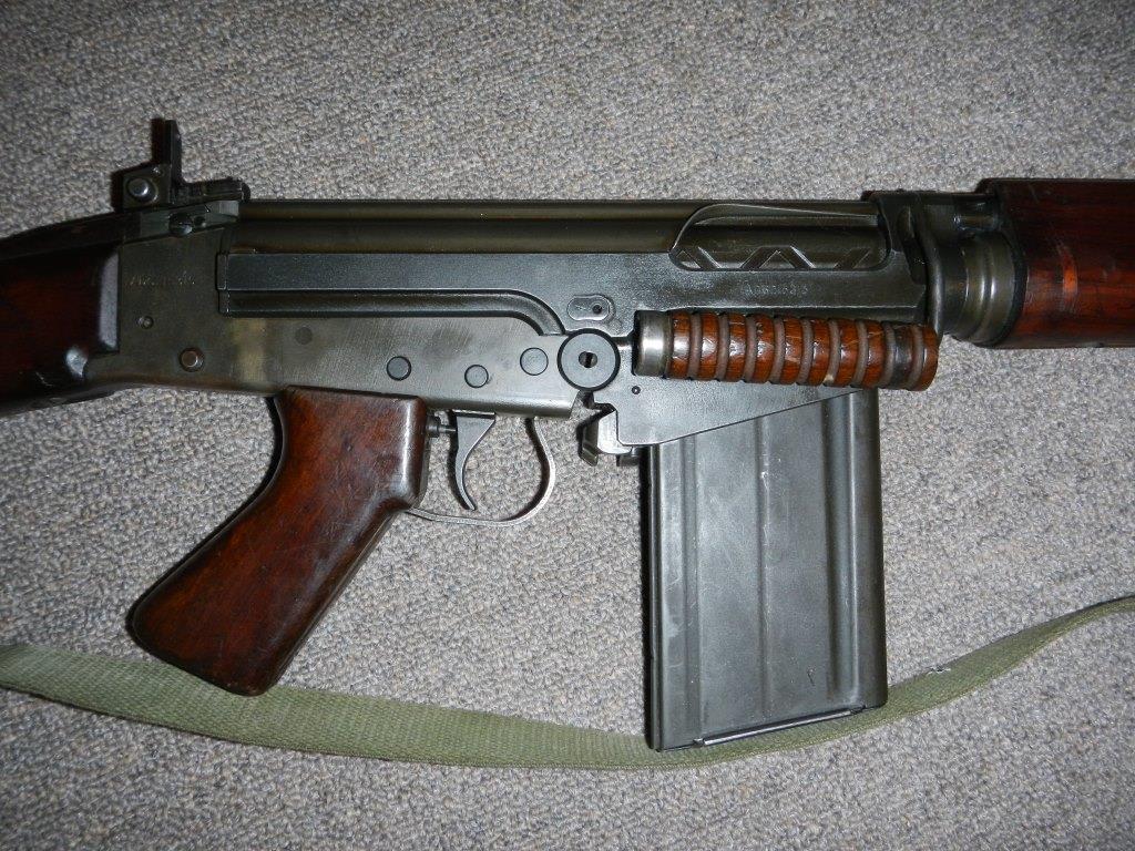 Fusil L1A1 Lightgow utilisé par l'Armée de la Nouvelle-Zélande 1314