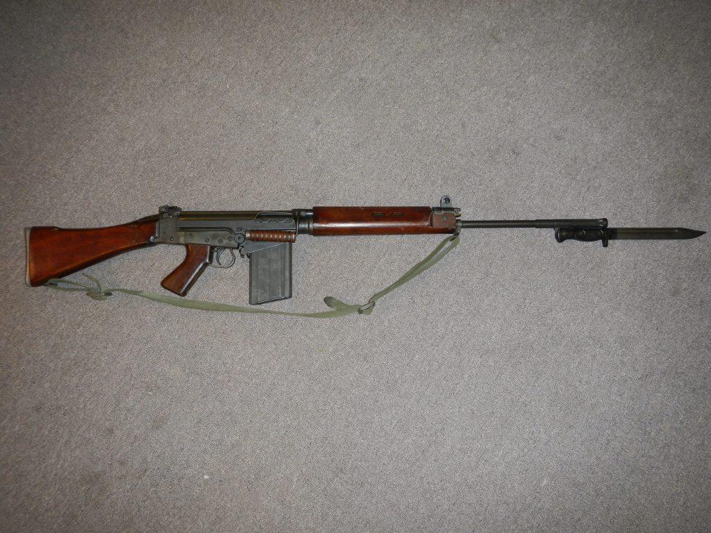 Fusil L1A1 Lightgow utilisé par l'Armée de la Nouvelle-Zélande 1_copy18