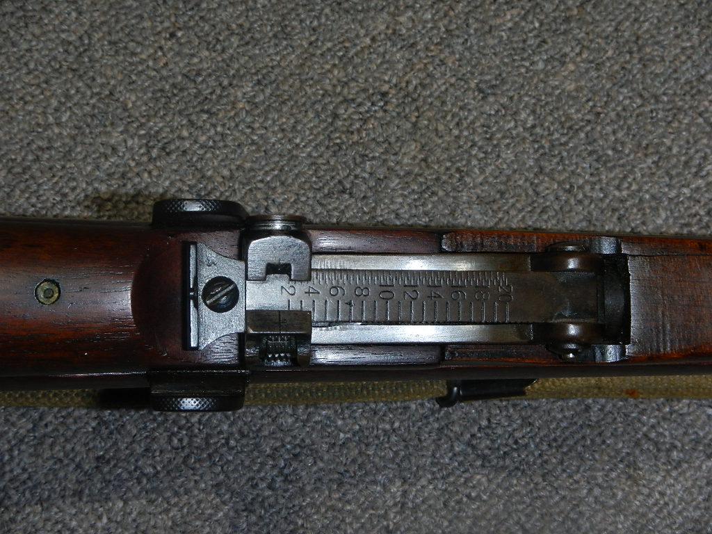 Lee Enfield No 1 MK III* avec poinçon canadien du «C/ \» 1bb11