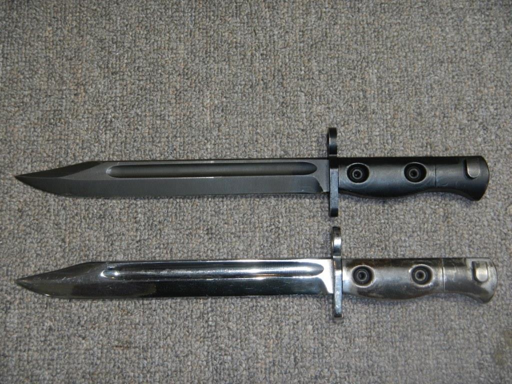 Baïonnettes L1A2 autraliennes du fusil L1A1 224