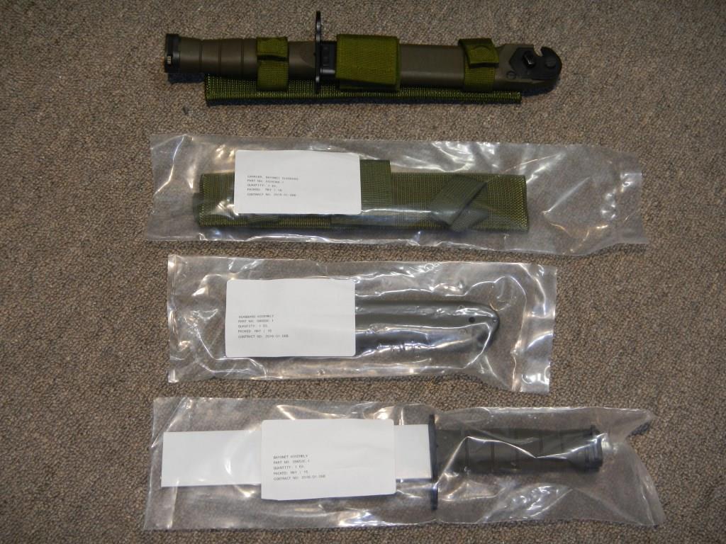 La baïonnette canadienne «Bayonet 2000» 318