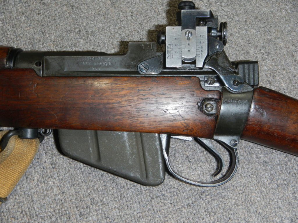 Lee Enfield No 4 MK I* Long Branch converti au calibre 7,62 OTAN pour le tir de compétition 3_copy17