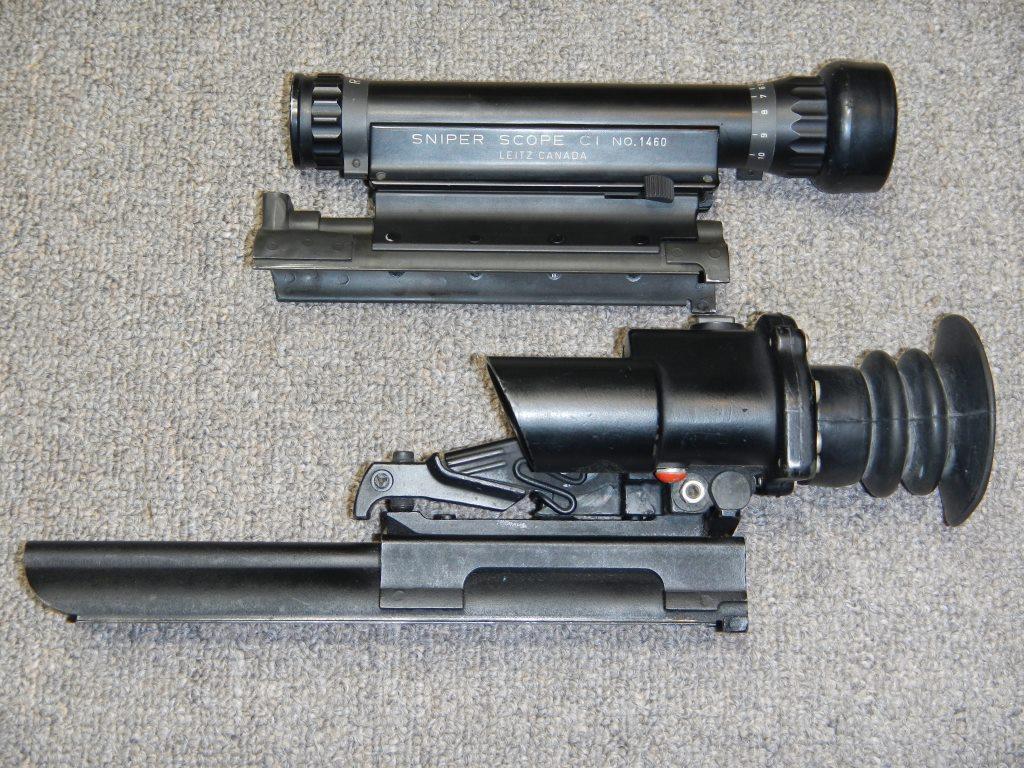 Les télescopes «Sniper Scope C1» et «SUIT L2A2» côte-à-côte 3_copy26