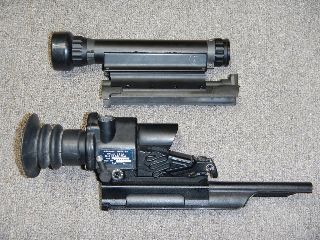 Les télescopes «Sniper Scope C1» et «SUIT L2A2» côte-à-côte 5_copy22