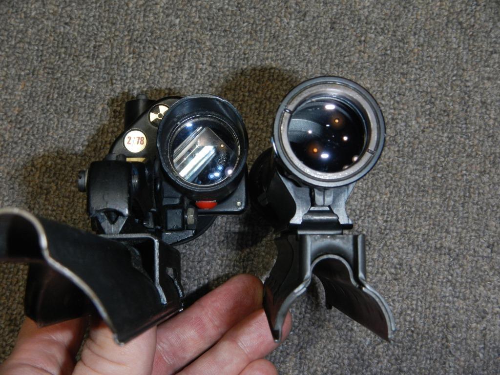Les télescopes «Sniper Scope C1» et «SUIT L2A2» côte-à-côte 6_copy22