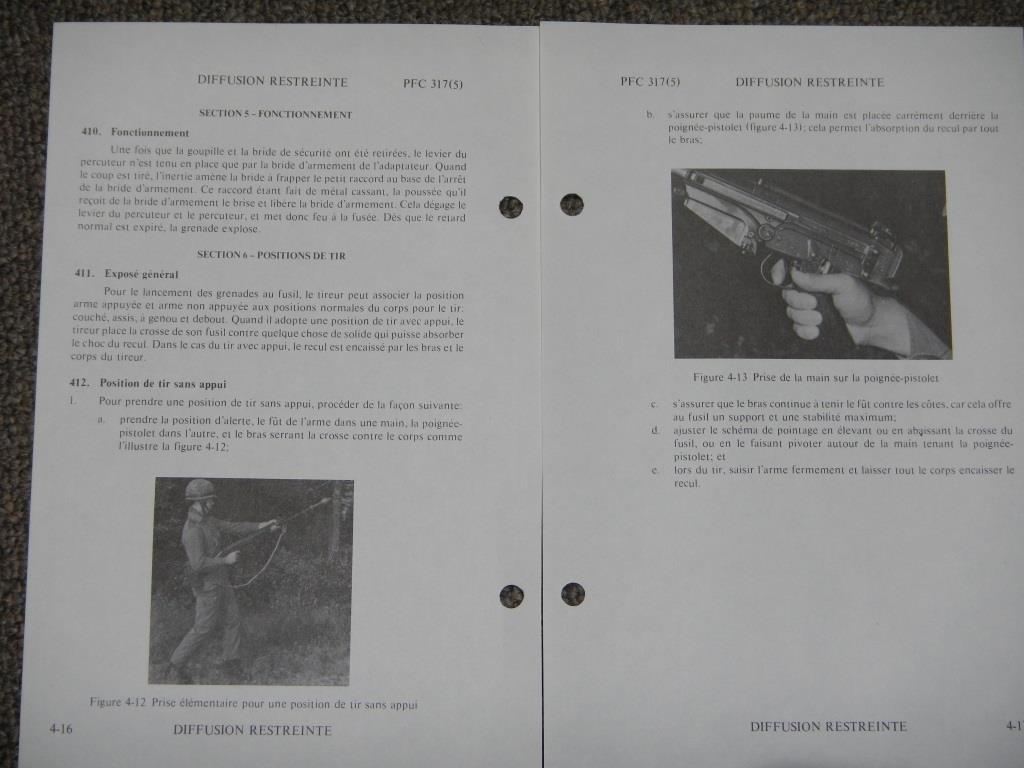 Fusil FN C1A1 et Fusil-mitrailleur FN C2A1 du Canada 716