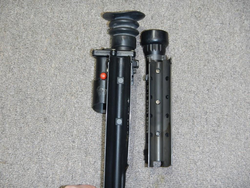 Les télescopes «Sniper Scope C1» et «SUIT L2A2» côte-à-côte 7_copy22
