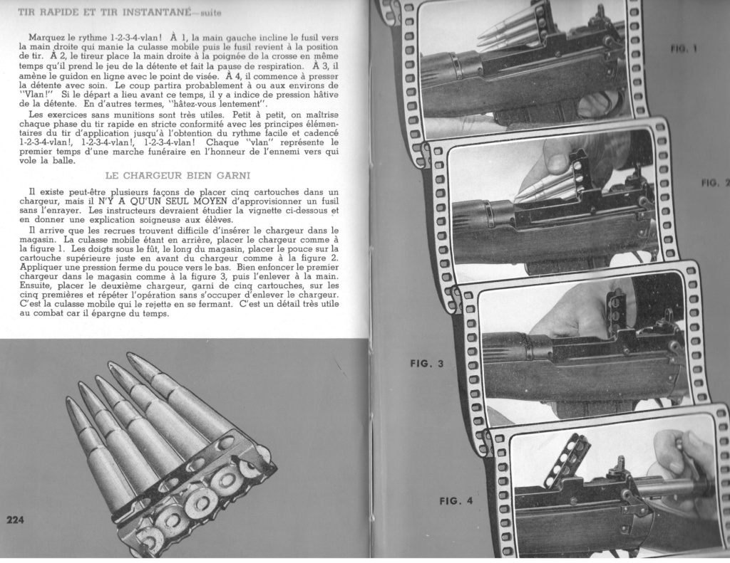 clips Lee Enfield : ordonnancement des cartouches Charge10