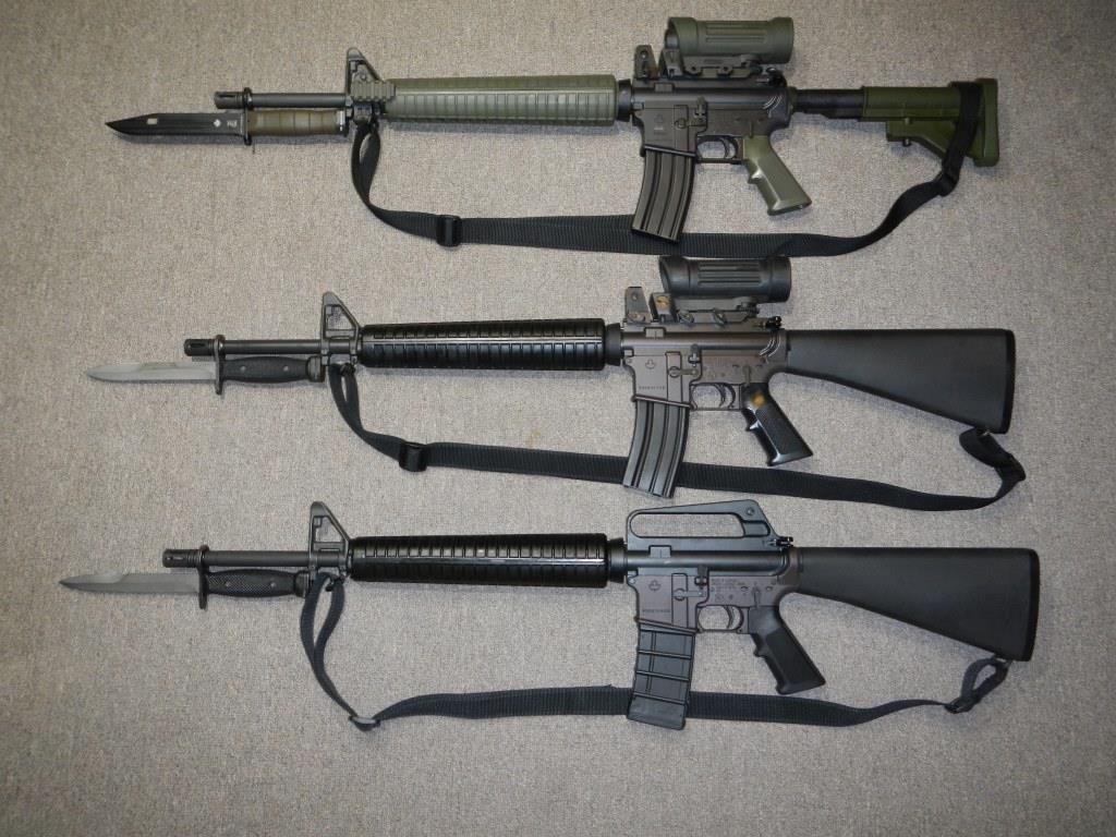 Les clones du fusil C7, C7A1 et C7A2 canadien 5,56 mm (Diemaco / Colt Canada) Dscn4912