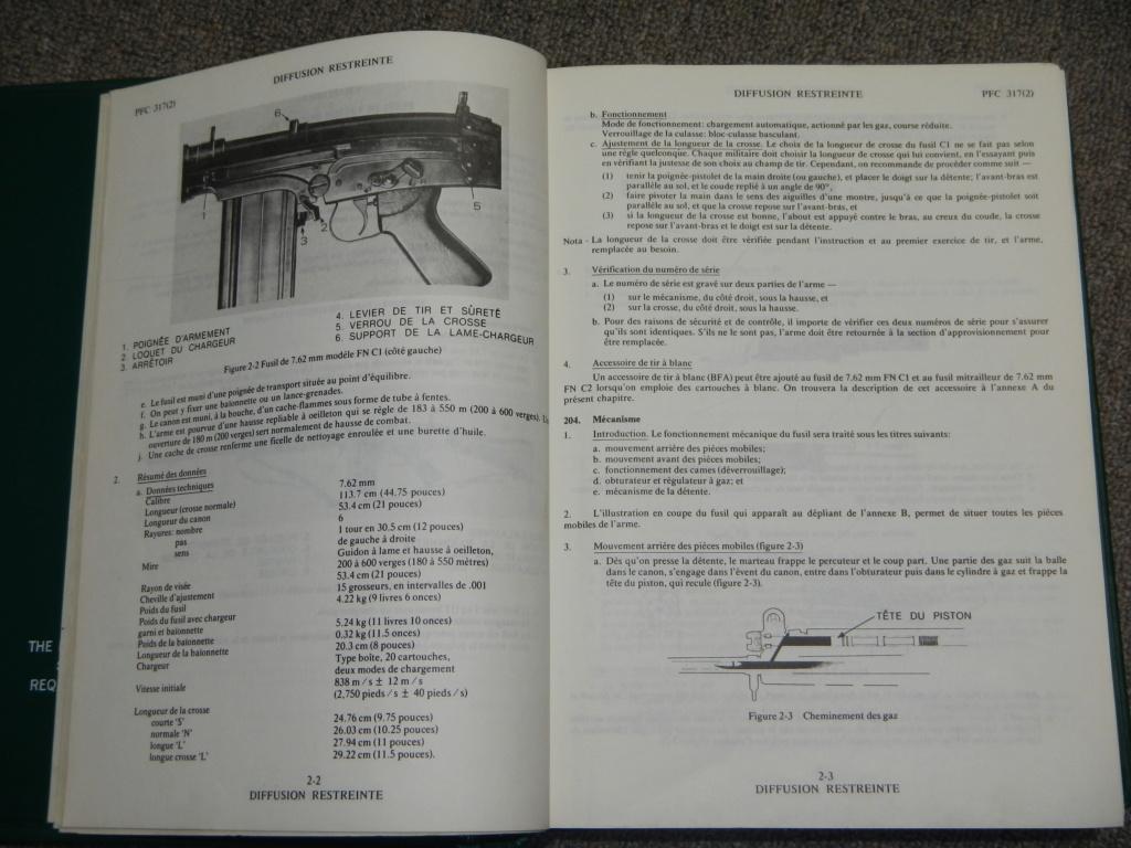 Fusil FN C1A1 et Fusil-mitrailleur FN C2A1 du Canada - Page 2 Dscn5110