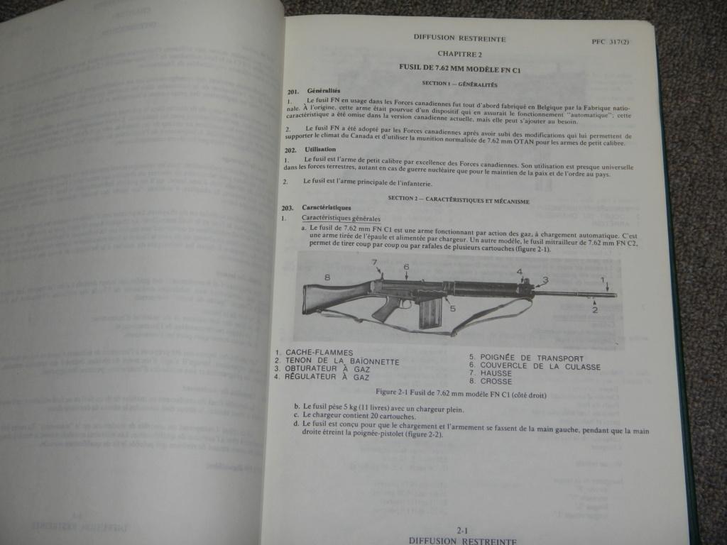 Fusil FN C1A1 et Fusil-mitrailleur FN C2A1 du Canada - Page 2 Dscn5111