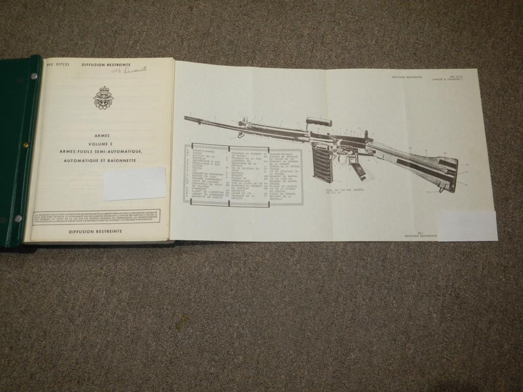 Fusil FN C1A1 et Fusil-mitrailleur FN C2A1 du Canada - Page 2 Dscn5112
