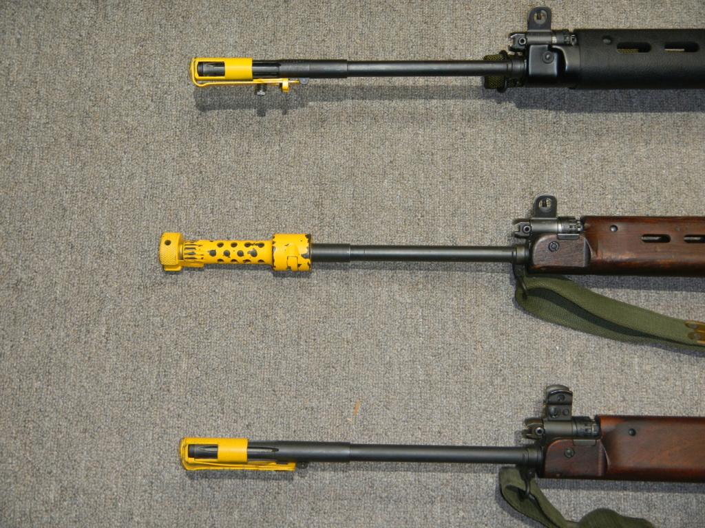 Les trois fusils FAL du Commonwealth réunis ensemble pour des photos Dscn5335