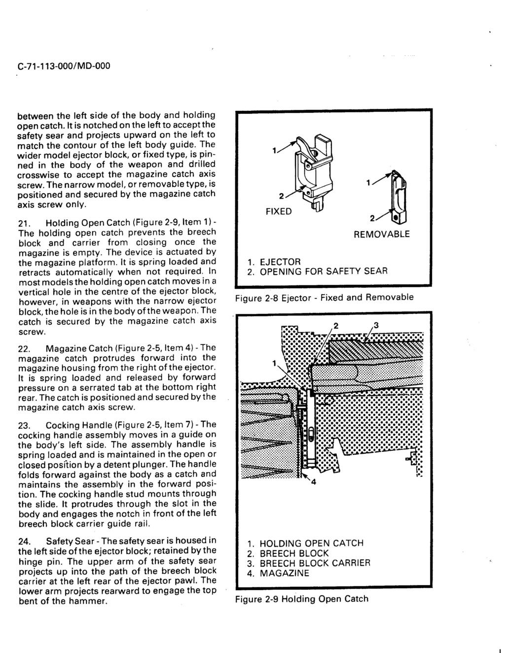 Fusil FN C1A1 et Fusil-mitrailleur FN C2A1 du Canada - Page 2 Ejecto11
