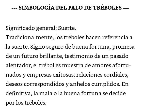 Simbología general Trebol10
