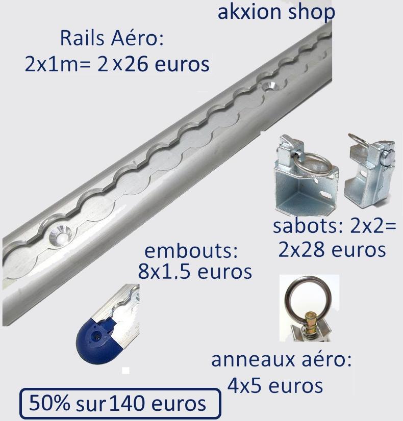 vends rails aéro Rail-a10