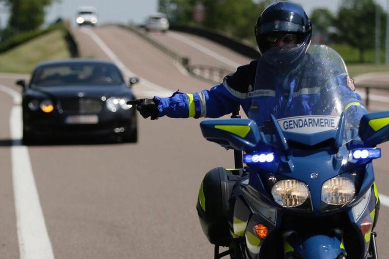 France, Limitation de vitesse 110