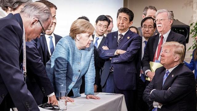 Les pateó el trasero: Trump no firmará el comunicado final de la cumbre del G-7 Dfssxz10