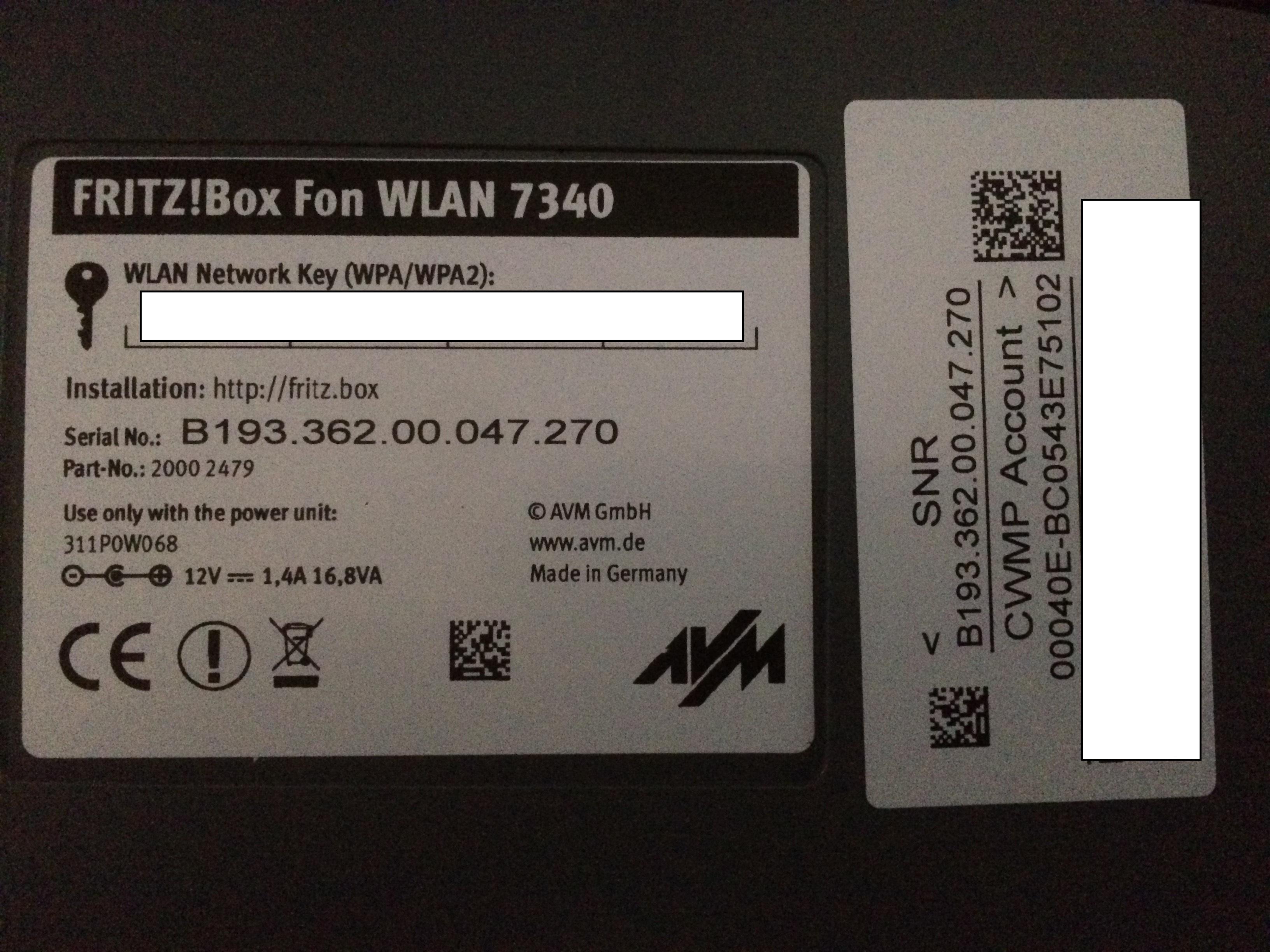 Fritz 7340 non funziona più  Img_0810