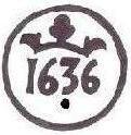 4 Maravedies de Felipe III de 160? (ceca de cuenca) resellados  Resell12