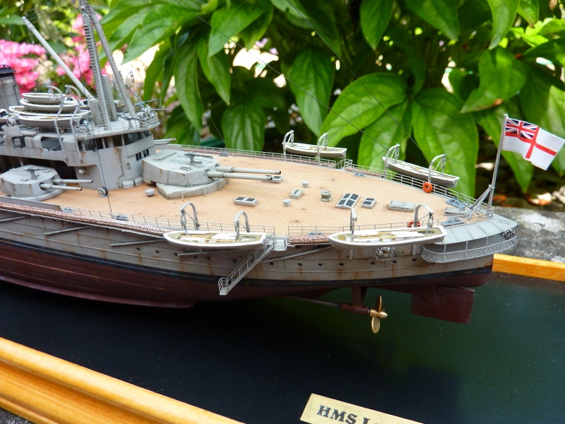 HMS Lord Nelson au 1/350ème P1130113