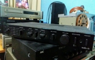 Audiolab 8000a amplifier - sold 20190612