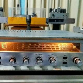 Vintage Sansui tube / valve receiver - sold Chat_210
