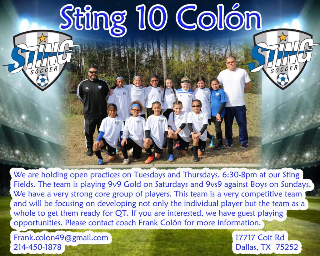 Sting 10 Colón Sting_10
